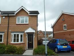 beaford road wythenshawe 2 bed semi detached house to rent 700 image 1 of 8 front elevation mai