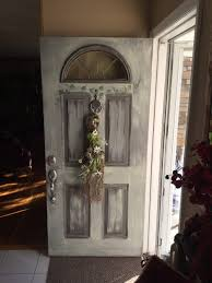 shabby chic doors redo front door and entry table with mirror