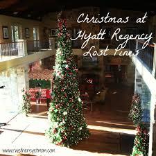 holiday happenings at hyatt regency lost pines resort austin tx