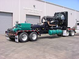 magnum 1350 qhp high pressure water blast pump trailer industrial