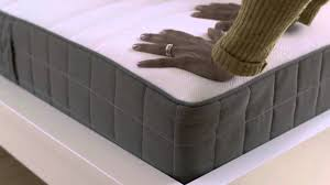 ikea rolled packed spring mattresses youtube