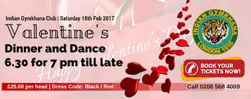 valentine u0027s dinner and dance u2013 saturday 18th feb 2017 indian
