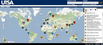 Utsa Map The University Of Texas At San Antonio Joins Myglobalu Myglobalu