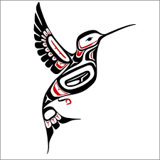 northwest coast style hummingbird decal wilsongraphics