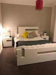one bed frame and mirror matching italian bed beds gumtree