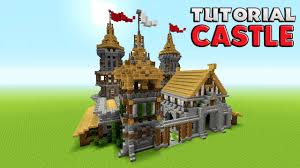 small houses that look like castles minecraft how to build a castle tutorial barracks tutorial