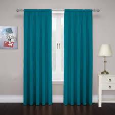 Turquoise Curtain Rod Rod Pocket Curtains Joss U0026 Main