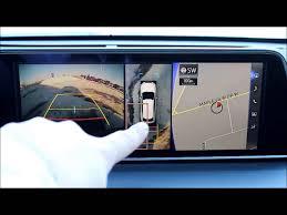 lexus rc navigation 2016 lexus rx 360 camera youtube