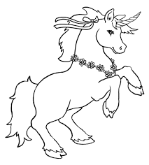 cute unicorn coloring pages coloring pages kids