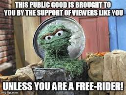 Oscar The Grouch Meme - don t be a grinch support a grouch economics memes