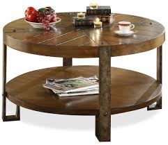 round wooden coffee table with drawers round coffee table with two
