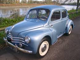 vintage renault cars classic chrome renault 4cv 1961 p p metallic blue