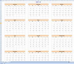 12 month calendar excel calendar template excel