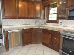 Cream Color Kitchen Cabinets Pleasant Limestone Kitchen Backsplashes With Subway Pattern