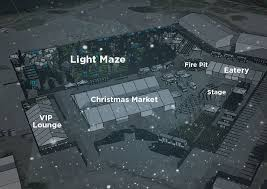 world u0027s biggest christmas light maze coming to vancouver this