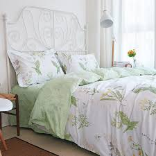 elegant european rustic floral bedding delicate shabby style bed