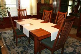 bungalow dining room hgtv fabric table runner how to make a table runner out of scrap