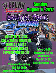 what time does the monster truck show start thrill shows seekonk speedway