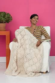 wedding gift knitting patterns winter lace afghan made in wool ease thick a great