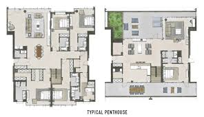 Duplex Floor Plan by Take A Look At Floor Plans Of Oosten U0027s Resedences