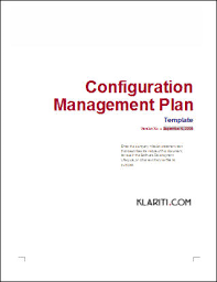configuration management plan download 24 page ms word template