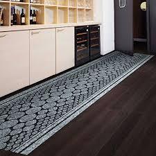 tapis de cuisine et gris tapis de passage casa pura cork gris pour cuisine couloir