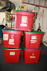 tree storage box plastic container