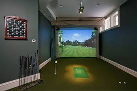 Home Golf Simulator by Georgia Atlanta Home Theater Home Automation Smart Home And Audio