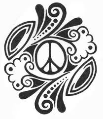 cool peace sign drawings search my style