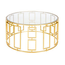 gold leaf coffee table worlds away jenny 36 diameter gold leaf coffee table beveled glass