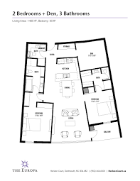Dartmouth Floor Plans The Europa Horizon Court