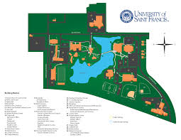 Illinois State Campus Map by Map U0026 Directions University Of Saint Francis University Of
