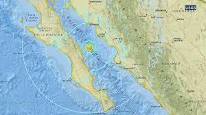 Mexico On Map 6 3 Magnitude Earthquake Strikes In Gulf Of California Near