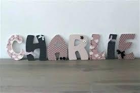 lettres pour chambre bébé lettre décorative pour chambre bebe lettres pour chambre bebe lettre