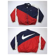 nike windbreaker nike colorblock red white blue usa windbreaker og jacket nike