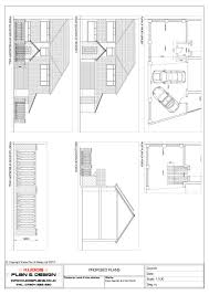 architectural plans loft conversion plans house extension