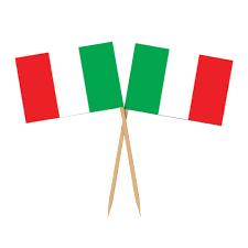 Italy National Flag Pack Of 50 Italian Flag Food Picks Peeks