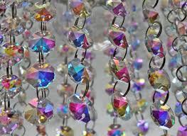 Glass Crystal Chandelier Drops 100 Art Deco Victorian Look Chandelier Drops Glass Crystals