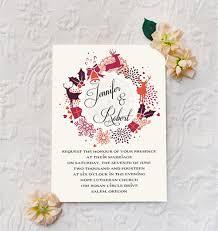 Christmas Wedding Invitations Top 10 Winter Wedding Invitations At Elegantweddinginvites