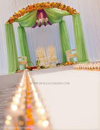 Seafoam Green Curtains Decorating Suhaag Garden Jodha Akbar Theme Mandap Mint Green Chiffon Drapes