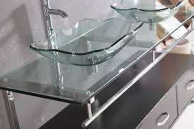 excellent ideas glass bathroom sinks countertops 4metre double