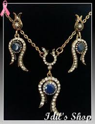 Ottoman Empire Jewelry This Fantastic Jewelry Set Including Two Earrings A Necklace And