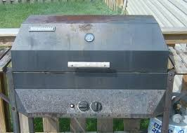 Brinkmann Dual Gas Charcoal Grill by Gas Grill Renovation 12 Steps With Pictures