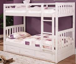 Twin Over Twin Bunk Beds With Trundle by White Twin Bunk Beds Picture Of Quake White Twintwin Bunk Bed