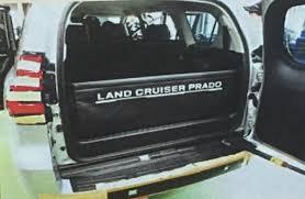 land cruiser toyota 2018 2018 toyota land cruiser prado facelift luggage protector spy