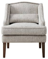 Swoop Arm Chair Design Ideas Living Room Baylor Swoop Arm Accent Chair Gray Multi Armchairs And