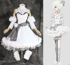 custom made black butler ciel doll white rose dress cosplay