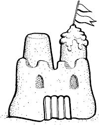 Picture Of Sand Castle Coloring Page Download Print Online Sandcastle Coloring Page