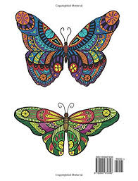 amazon com coloring book butterfly designs and patterns