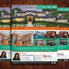Estate Feature Sheet Template Estate Flyer Templates To Market Your Property Estate
